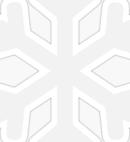 Christmas Snow Flake Sticker