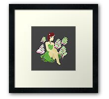 The Roots of Flowers Framed Print