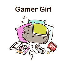 Lord Gamer Photographic Print