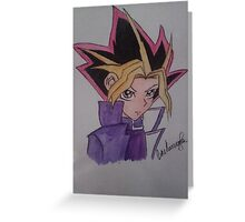yugi / yugioh origanal Greeting Card