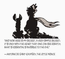 The LITTLE PRINCE and the fox - dream version One Piece - Short Sleeve