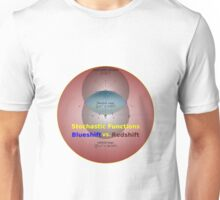 Science - Redshift vs. Blueshift Unisex T-Shirt