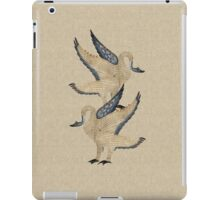 Medieval Illuminated Swans iPad Case/Skin