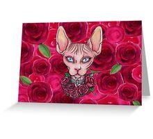 Love Sphynx Greeting Card