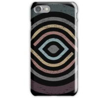 Abstract Geometry with Earth Tones iPhone Case/Skin