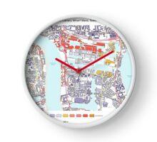 Multiple Deprivation Canary Wharf ward, Tower Hamlets Clock