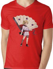 temari Mens V-Neck T-Shirt