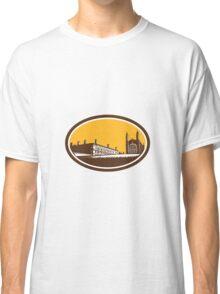 King's College University of Cambridge Woodcut Classic T-Shirt