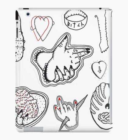 flash tattoo iPad Case/Skin