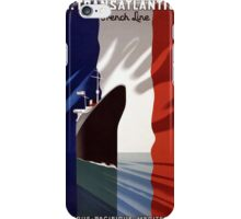 French Voyage iPhone Case/Skin