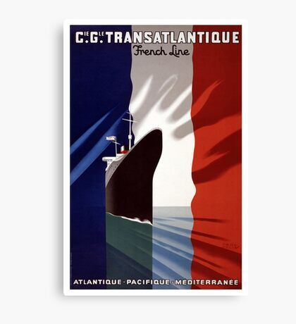 French Voyage Canvas Print