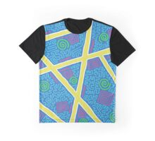 Weird Pattern Graphic T-Shirt