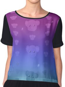 Koala Moon / Night Chiffon Top