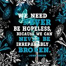 We Need Never Be Hopeless by eviebookish