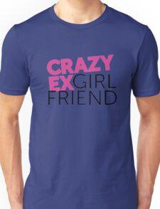 Crazy Ex-Girlfriend logo Unisex T-Shirt