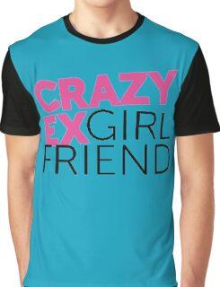 Crazy Ex-Girlfriend logo Graphic T-Shirt