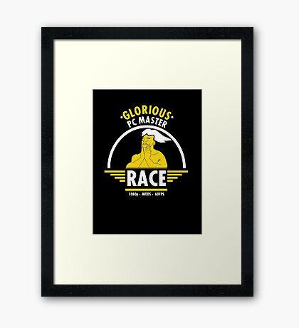 Glorious PC Master Race Framed Print