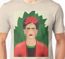 Frida Kahlo - Illustration Unisex T-Shirt