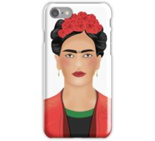 Frida Kahlo - Mexican Painter  iPhone Case/Skin