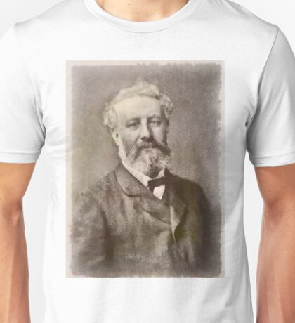 Jules Verne Author Unisex T-Shirt