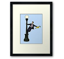 How I Met Your Mother in the Rain Framed Print