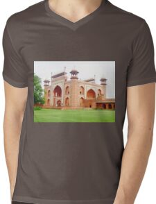 the great gate! Mens V-Neck T-Shirt