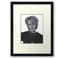Sam Carter (s4) Framed Print