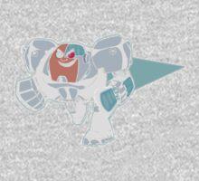 Teen Titans - Cyborg Kids Tee