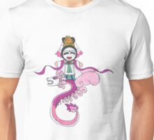 Kwan Yin on Dragon Unisex T-Shirt