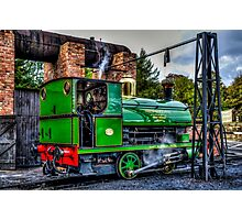 No. 1370 Locomotive Photographic Print