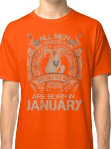 Gift Christmas - The best are born in January Shirt Classic T-Shirt