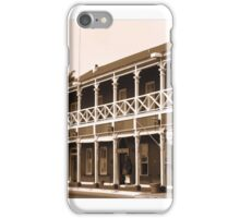 Pioneer Inn Sepia iPhone Case/Skin