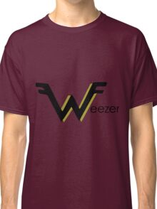 weezer logo with gold Classic T-Shirt