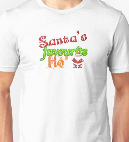 Santa's Favourite Ho' Unisex T-Shirt