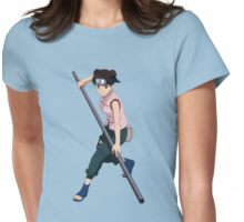 tenten ready to fight Womens Fitted T-Shirt