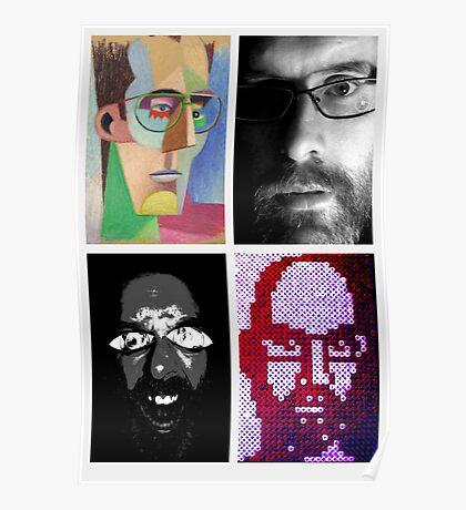 self portraits  Poster