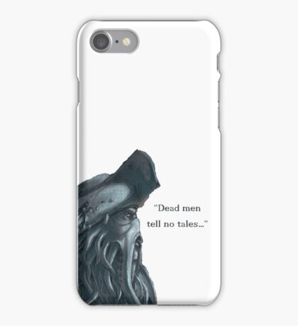 Davy Jones Pirates of the Caribbean iPhone Case/Skin