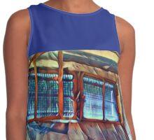 Blue Window / Blaues Fenster Contrast Tank