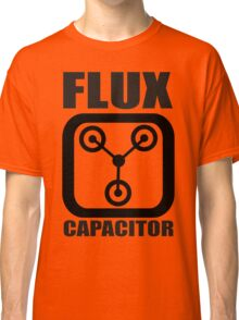FLUX CAPACITOR TSHIRT Funny BACK TO THE FUTURE TEE Humor 80s DOC BROWN Marty VTG Classic T-Shirt