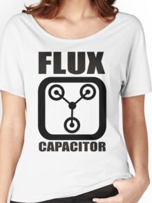 FLUX CAPACITOR TSHIRT Funny BACK TO THE FUTURE TEE Humor 80s DOC BROWN Marty VTG Women's Relaxed Fit T-Shirt