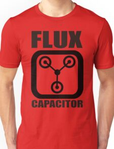 FLUX CAPACITOR TSHIRT Funny BACK TO THE FUTURE TEE Humor 80s DOC BROWN Marty VTG Unisex T-Shirt