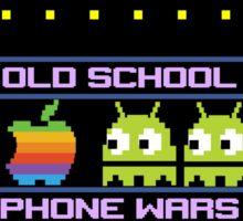 Old School Phone Wars Sticker