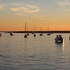 Boats On The Water by Cynthia48