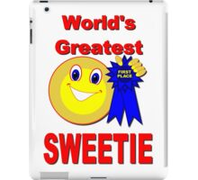 World's Greatest Sweetie iPad Case/Skin