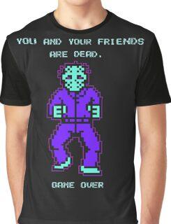 JASON FRIDAY THE 13TH 8-BIT NES Graphic T-Shirt