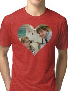 Jim and Pam Tri-blend T-Shirt