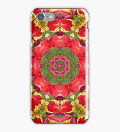 Holiday Tulip Bliss #7 iPhone Case/Skin