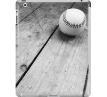 Black and White Baseball iPad Case/Skin