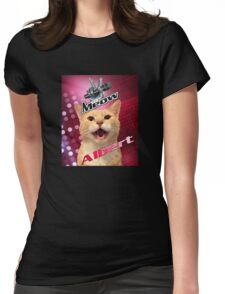 ALBERT does the voice Womens Fitted T-Shirt