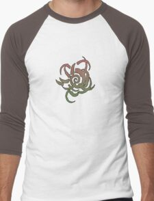 Apocalypse Tribe: Black Spiral Dancers Men's Baseball ¾ T-Shirt